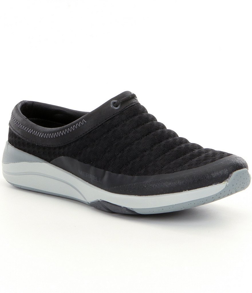 Merrell Applaud Breeze Quilted Mesh & Leather Slip-Ons