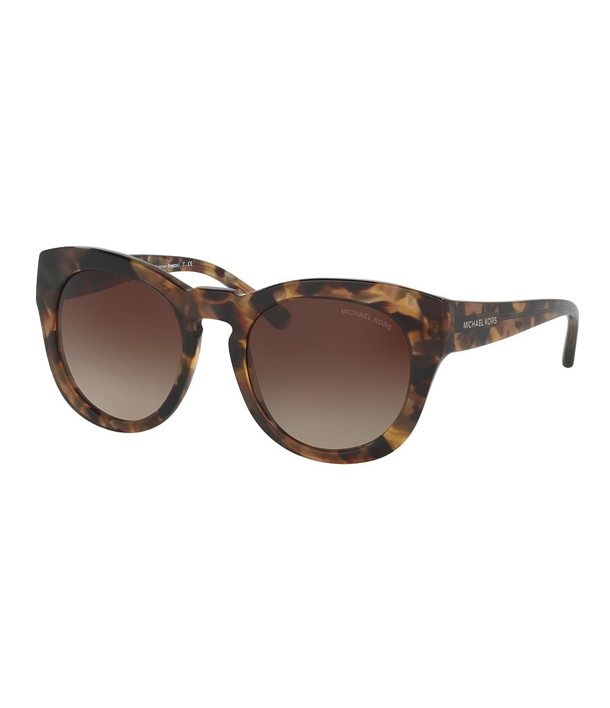 Michael Kors Summer Breeze Round Gradient Sunglasses