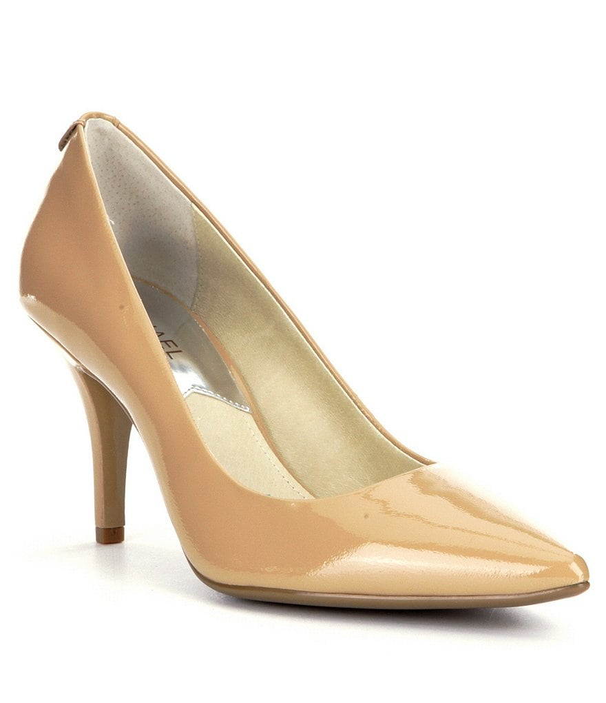 MICHAEL Michael Kors MK Flex Mid Pointed-Toe Pumps
