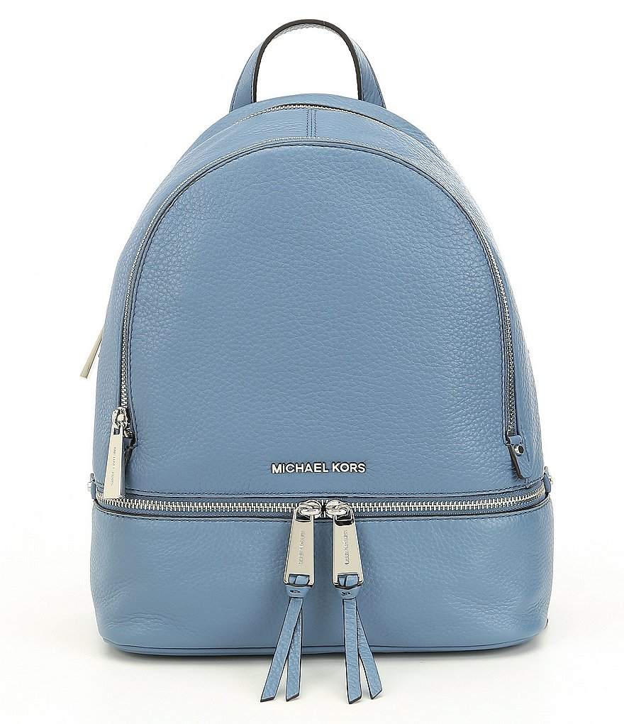6746eea4f2af Buy michael kors rhea zip backpack   OFF64% Discounted