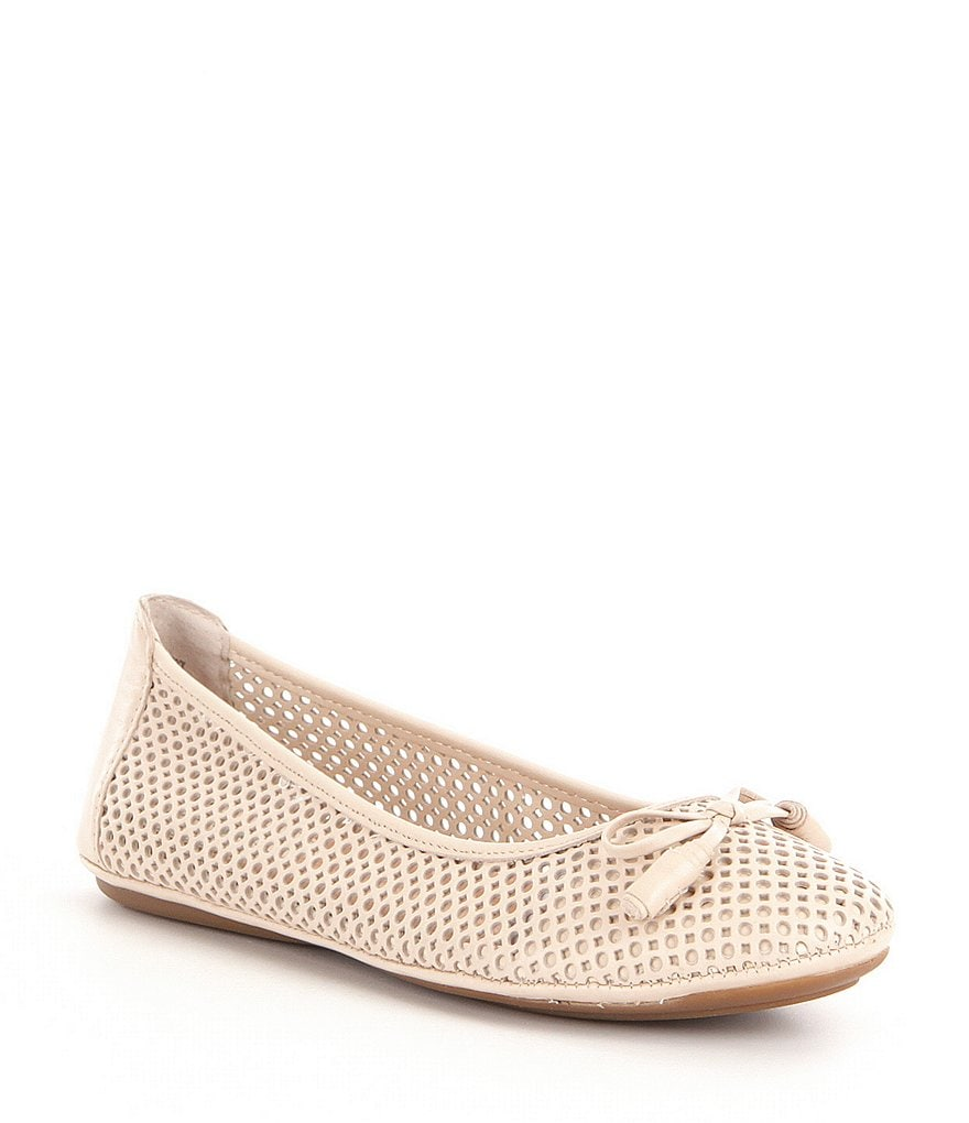 Montana Ramosa Laser-Cut Leather Flats