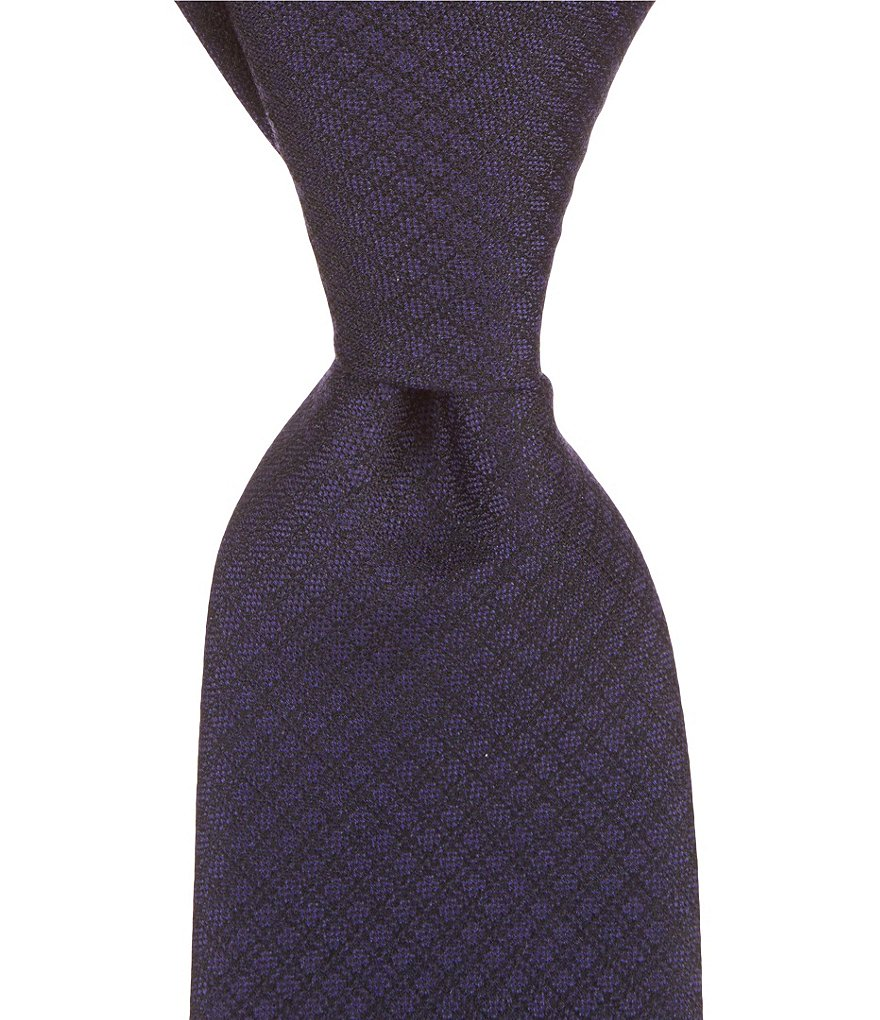 Murano Solid Grid Narrow Tie