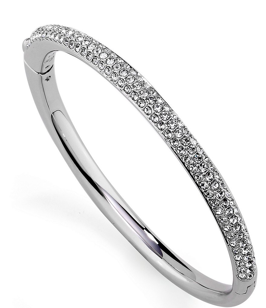 Nadri Crystal Bangle Bracelet