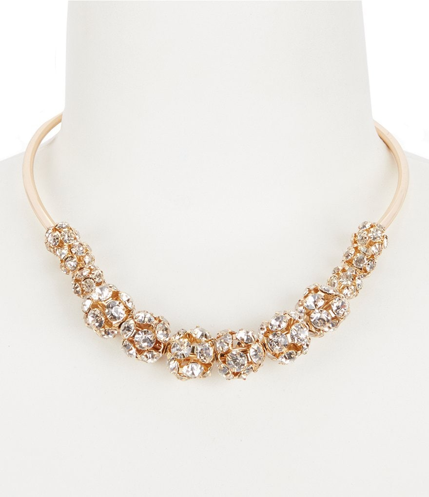 Natasha Accessories Fireball Collar Necklace