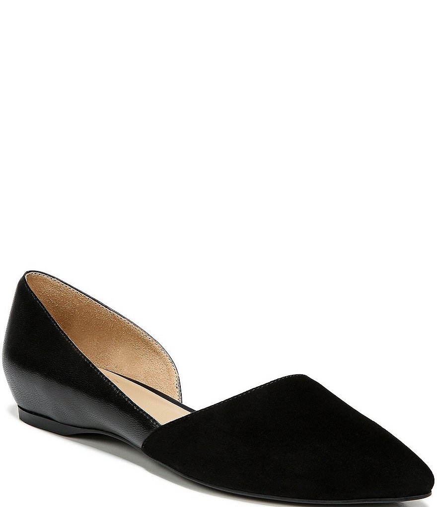 Naturalizer Samantha Leather & Suede Flats