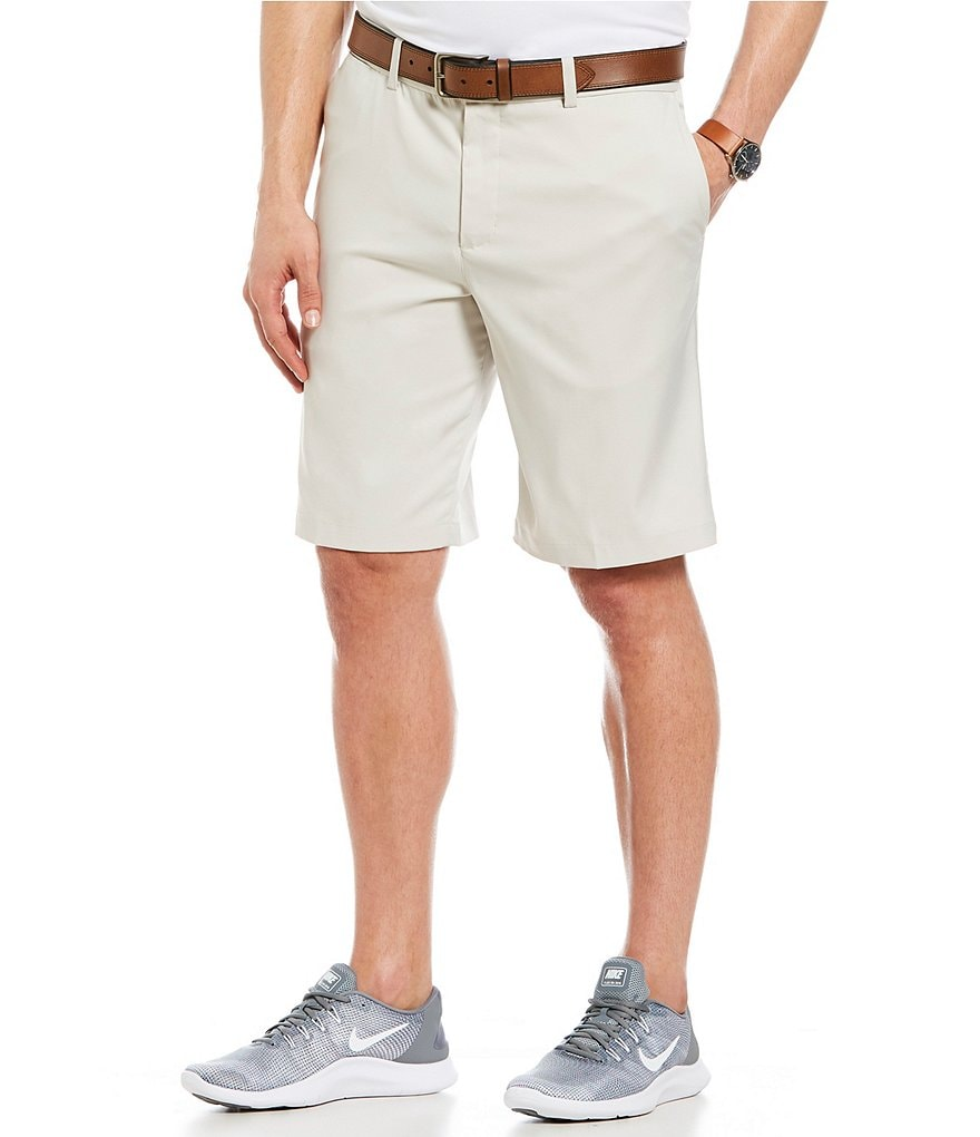 Golf Relaxed Fit Flat Front Shorts by Nike