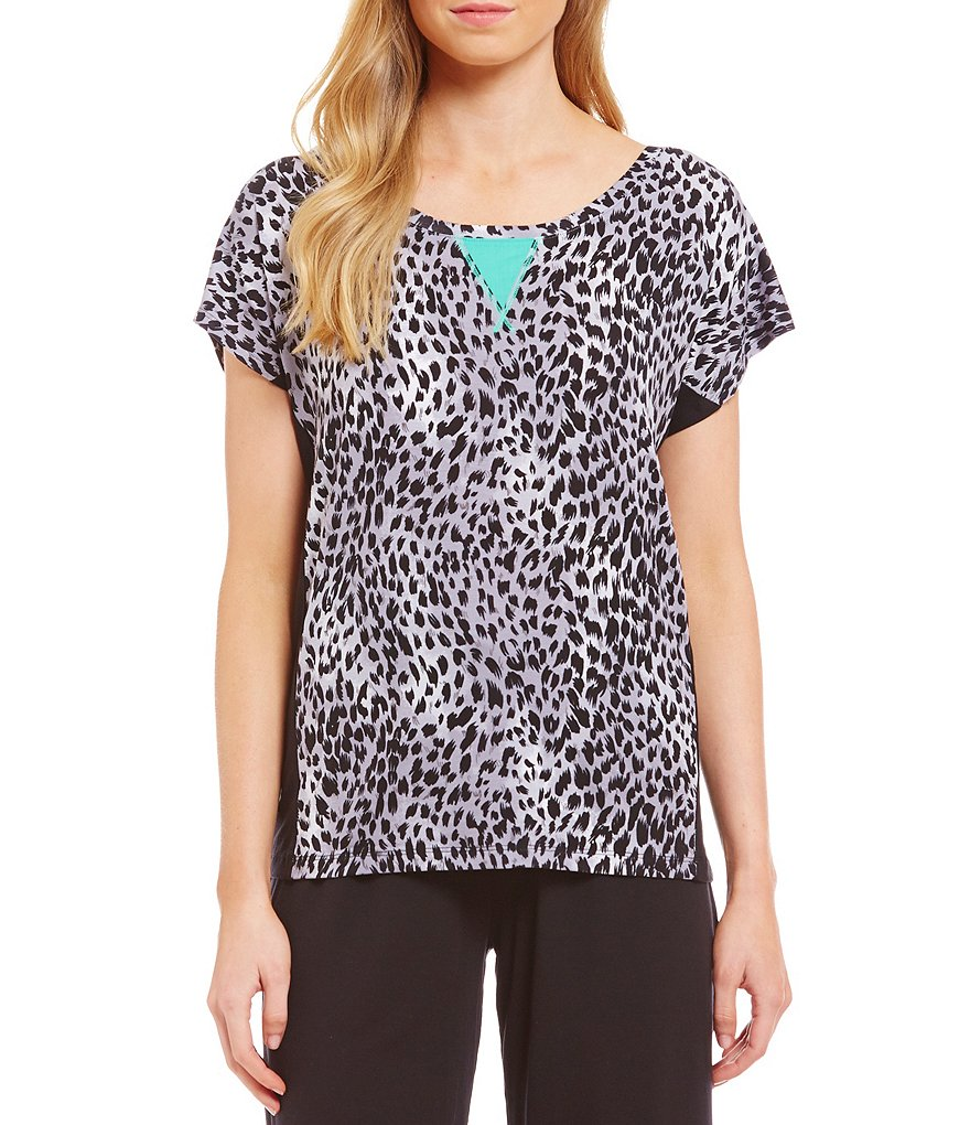 Nottibianche TEMPtations Animal-Print Sleep Top