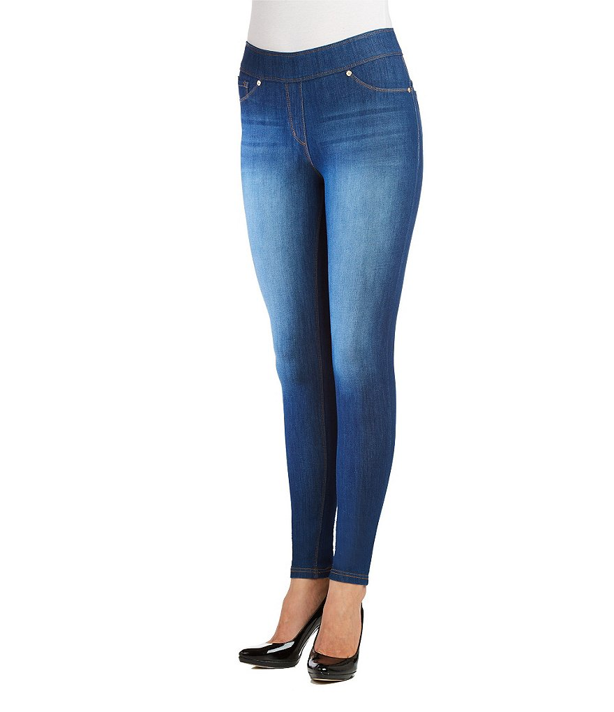 Nygard SLIMS Petite Luxe Denim Distressed Jeggings