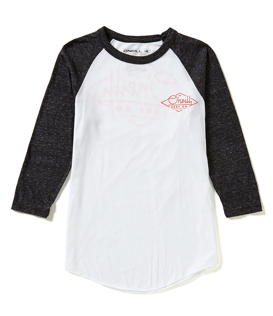 O´Neill Flyer Color Block Raglan-3/4-Sleeve Graphic Tee