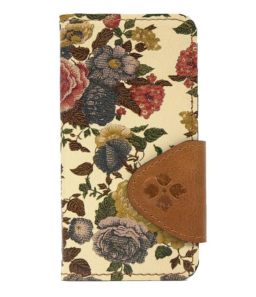 Patricia Nash Denim Fields Collection Vara Floral iPhone 7 Case