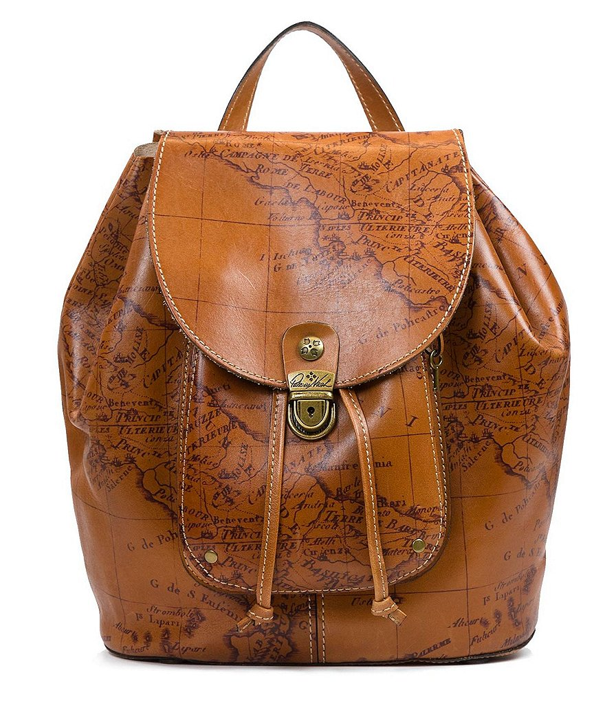 Patricia Nash Signature Map Collection Casape Backpack