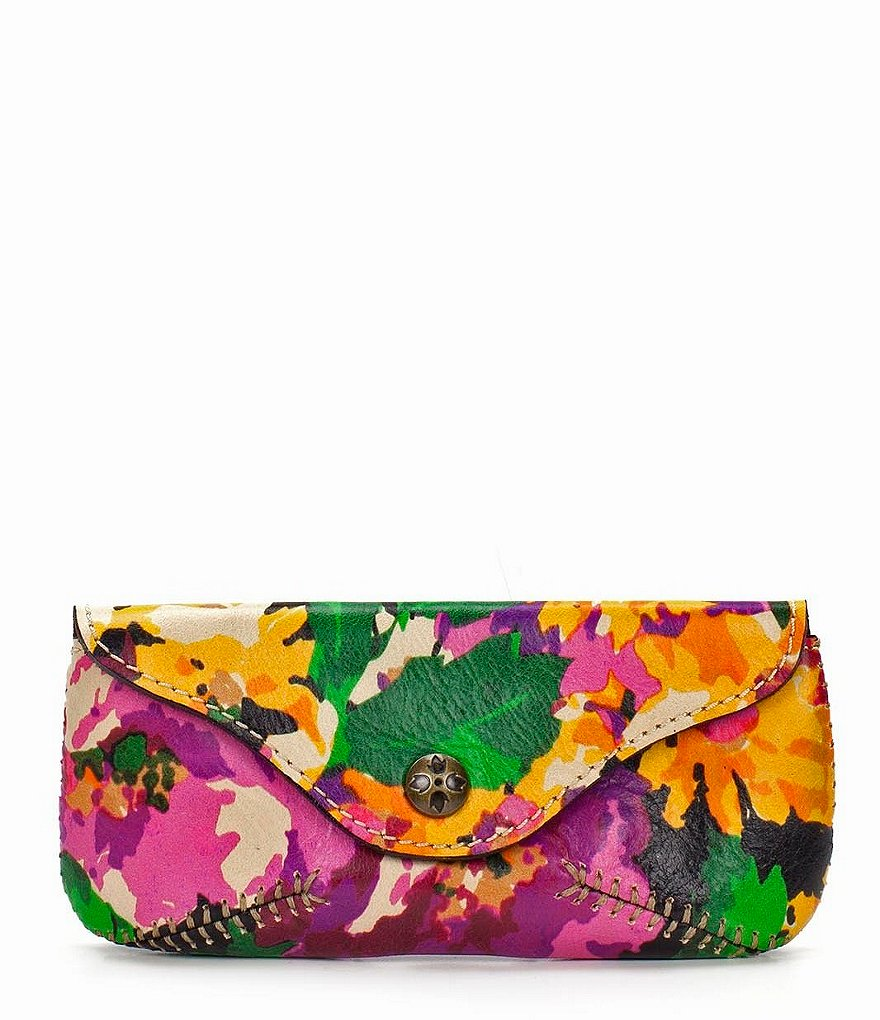 Patricia Nash Summer Evening Bloom Collection Ardenza Sunglass Case