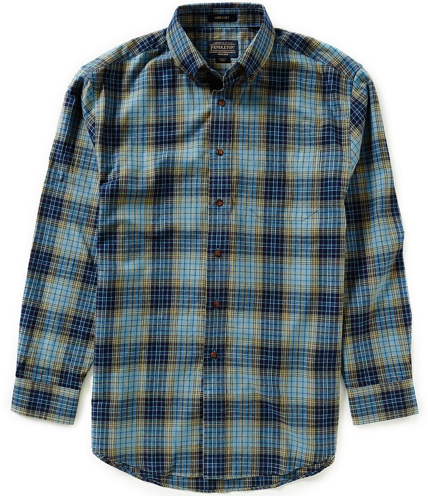 Pendleton Long-Sleeve Plaid Somerset Woven Shirt