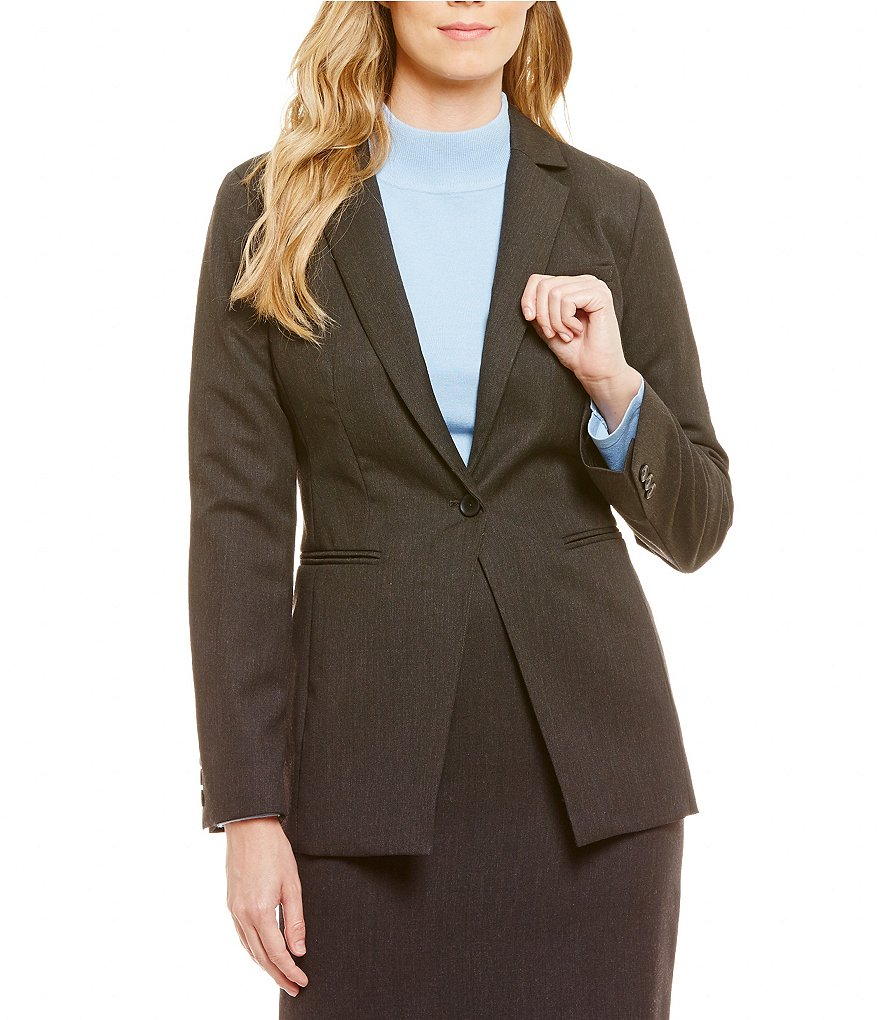 Pendleton Seasonless Gabardine Notch Lapel Blazer