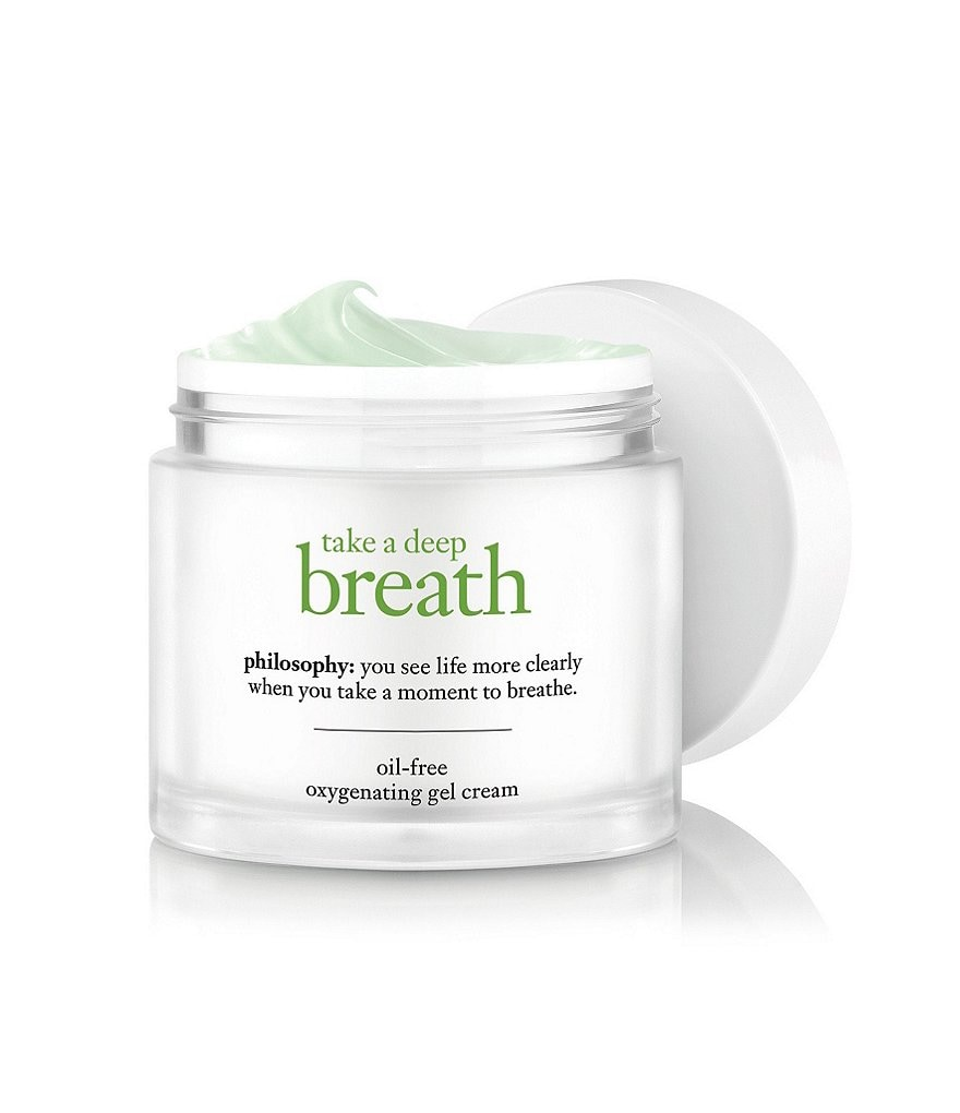 philosophy take a deep breath oil-free oxygen-infused gel cream