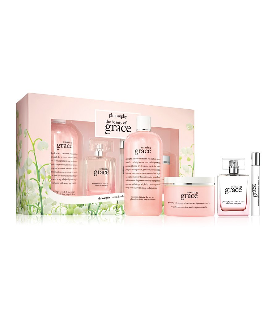 philosophy the beauty of grace amazing grace gift set