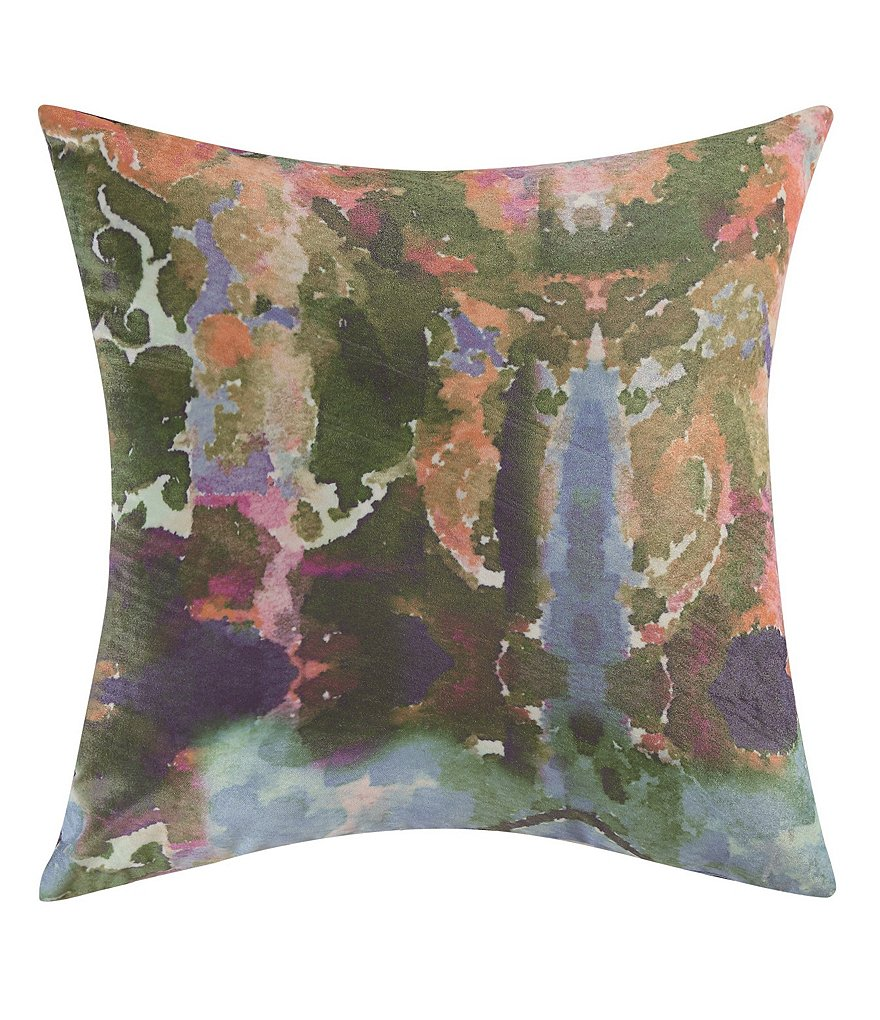 Poetic Wanderlust™ by Tracy Porter Mathilde Velvet & Faux-Silk Square Feather Pillow