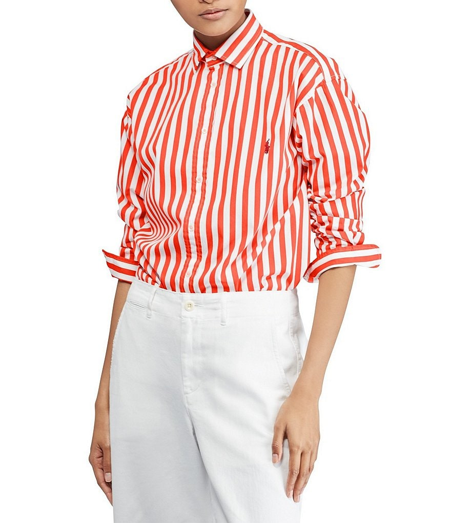 Bengal Stripe Cotton Shirt by Polo Ralph Lauren