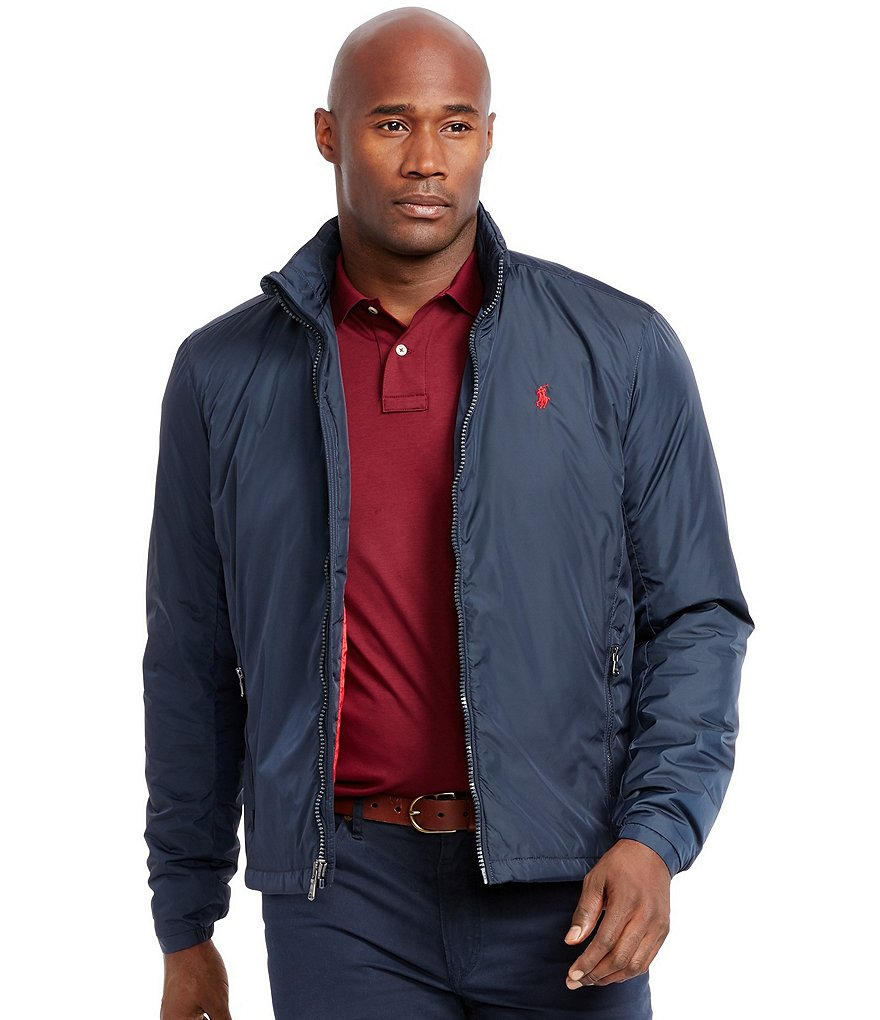 Polo Ralph Lauren Big & Tall Retford Stowaway-Hood Jacket