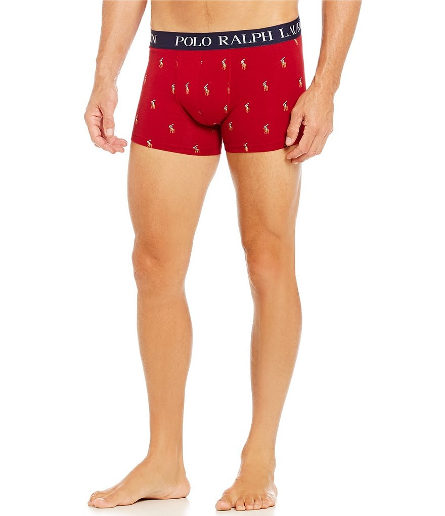 Polo Ralph Lauren Knit Repeating Pony Print Boxer Briefs