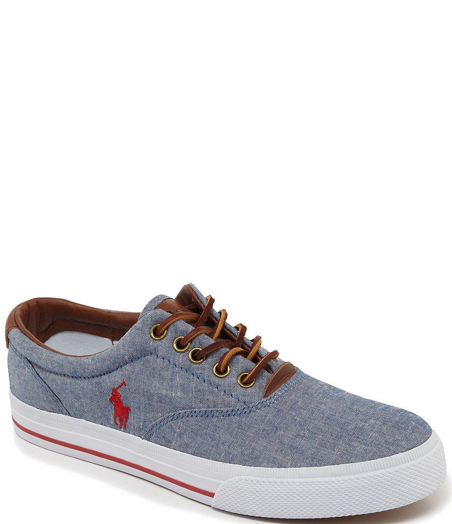 Ralph Lauren Mens Canvas Shoes