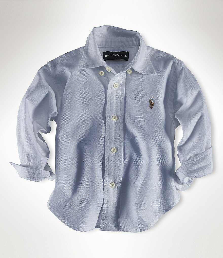Ralph Lauren Childrenswear Baby Boys 9-24 Months Oxford Shirt