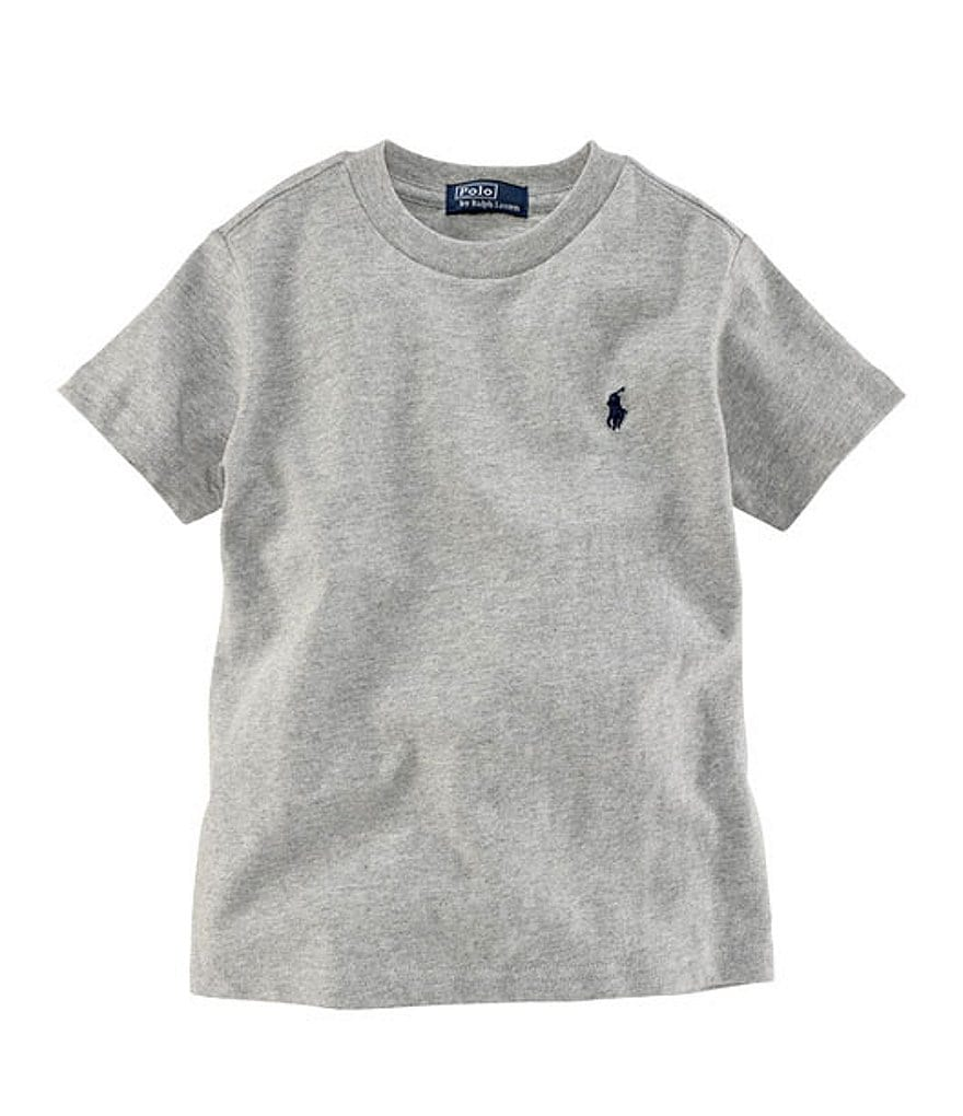 Ralph Lauren Childrenswear Little Boys 2T-7 Basic Crewneck Tee