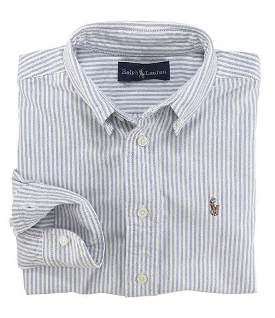 Ralph Lauren Childrenswear Little Boys 2T-7 Striped Oxford Shirt