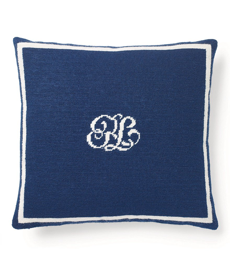 Ralph Lauren Leighton Canvas Square Pillow