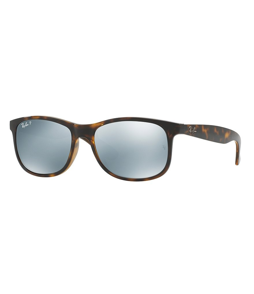Ray-Ban Andy Mirrored Rectangle Sunglasses