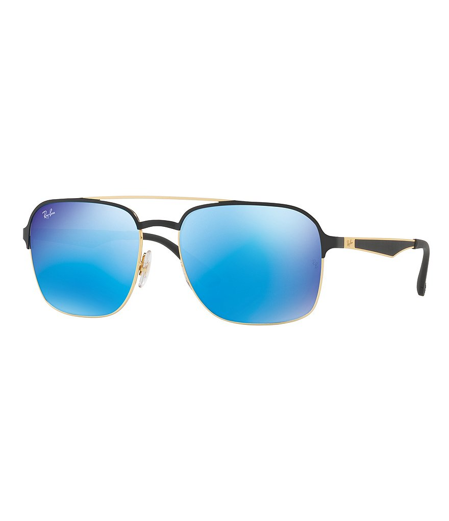Ray-Ban Mirrored Navigator Sunglasses