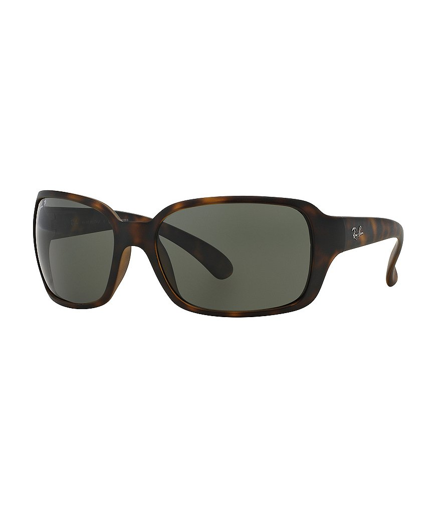 Ray-Ban Polarized Sqaure Active Wrap Sunglasses