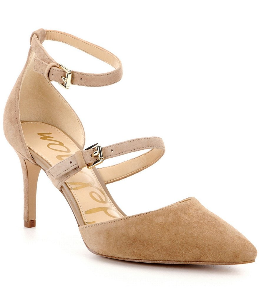 Sam Edelman Thea Suede Pointed Toe Pumps