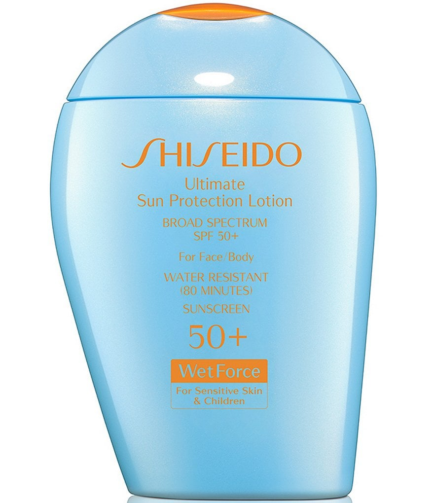 Shiseido Ultimate Sun Protection Lotion WetForce for Sensitive Skin and Children