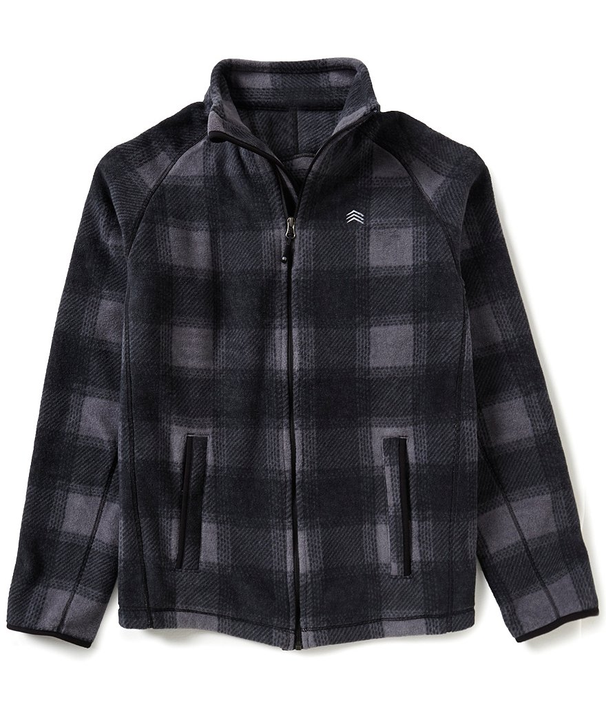 Solaris Plaid Fleece Jacket