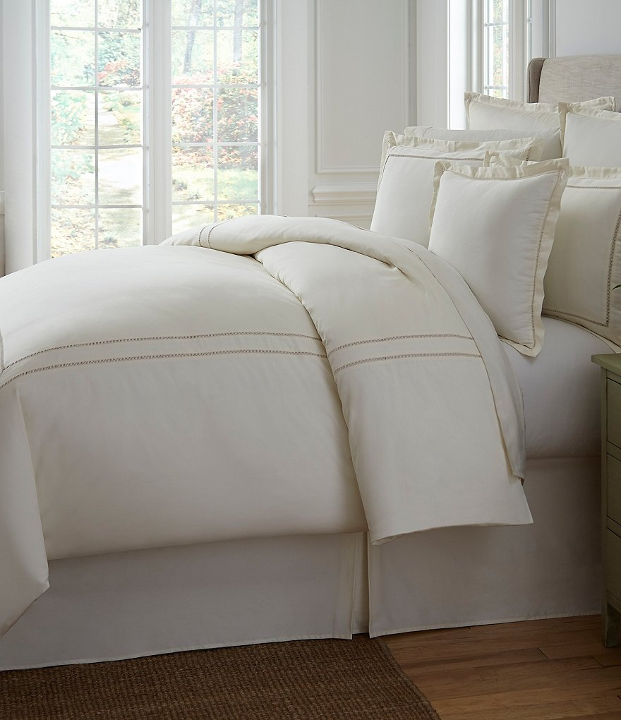Southern Living Heirloom 500-Thread-Count Sateen & Twill Duvet