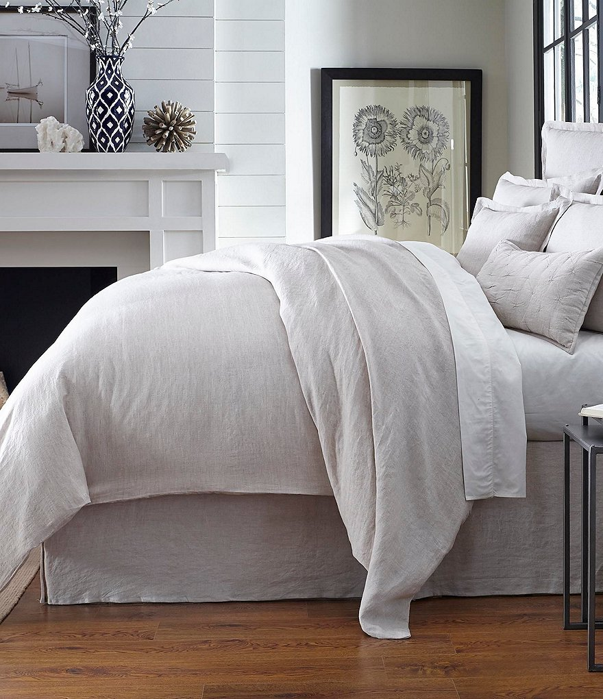 Southern Living Heirloom Linen Duvet Dillards