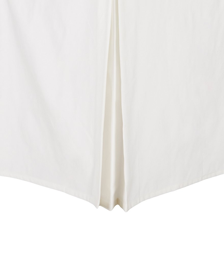 Southern Living Heirloom Pleated Sateen Bedskirt