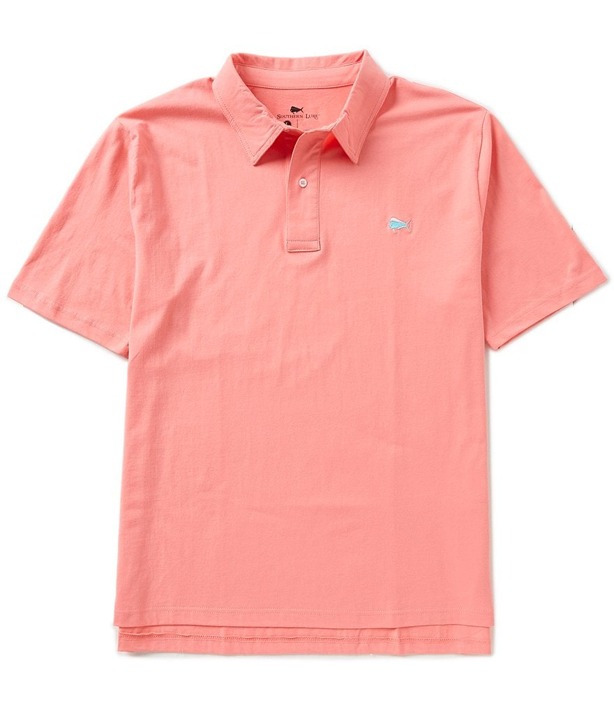 Southern Lure Short-Sleeve Jersey Polo Shirt