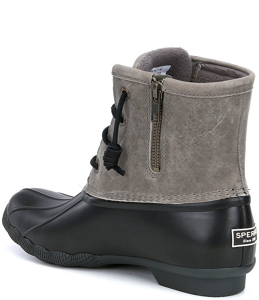 07b7340382ed good New Arrival Sperry Women's Saltwater Waterproof Cold Weather Duck Rain  Boots Women Shoes 2oIwlnyDs