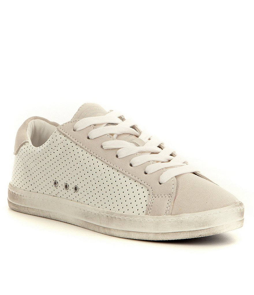 Steve Madden Blast Lace Up Two Toned Sneakers
