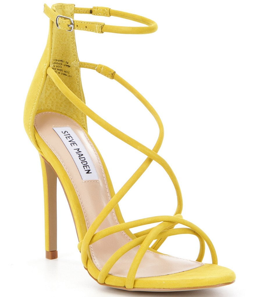 Steve Madden Strapped Strappy Ankle Strap Dress Sandals