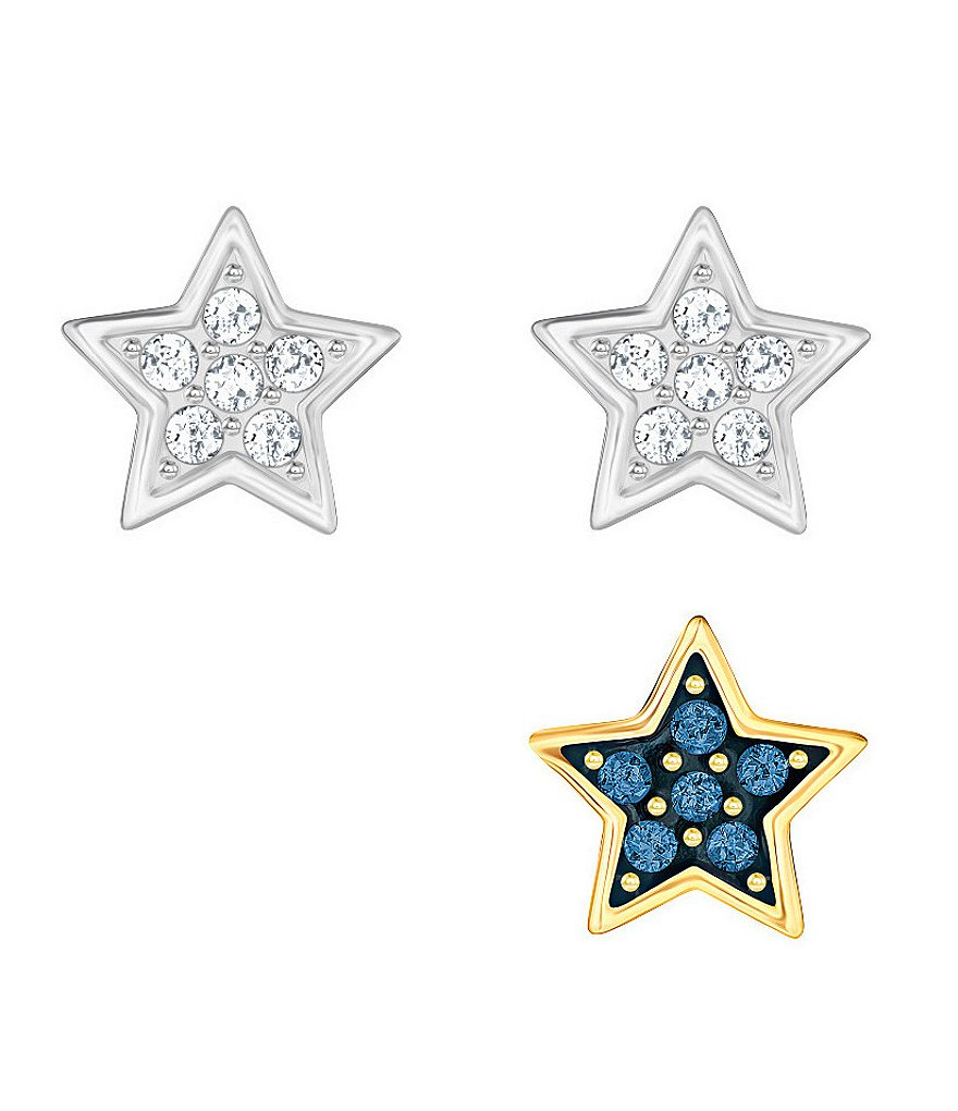 Swarovski Wishes Star Stud Earring Set