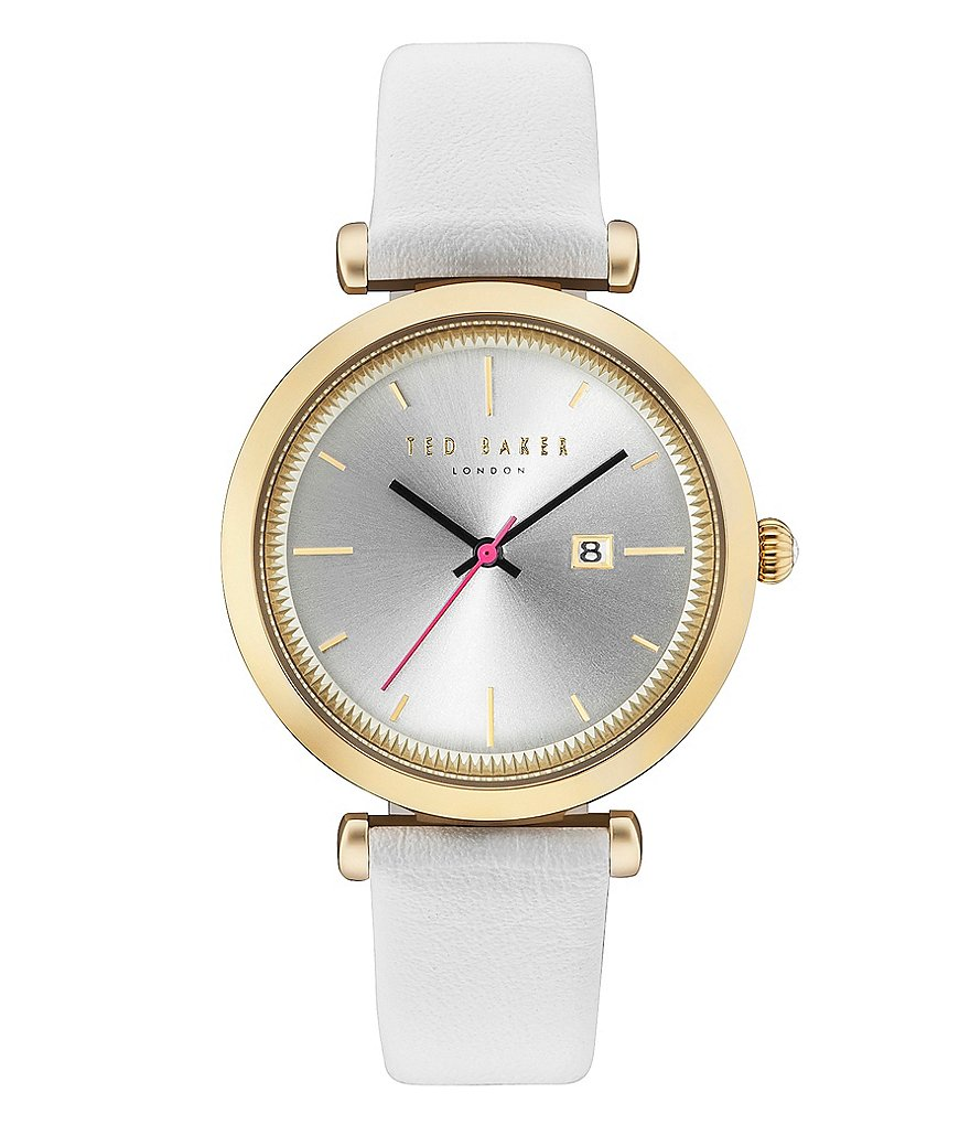 Ted Baker London Ava Analog & Date Leather-Strap Watch