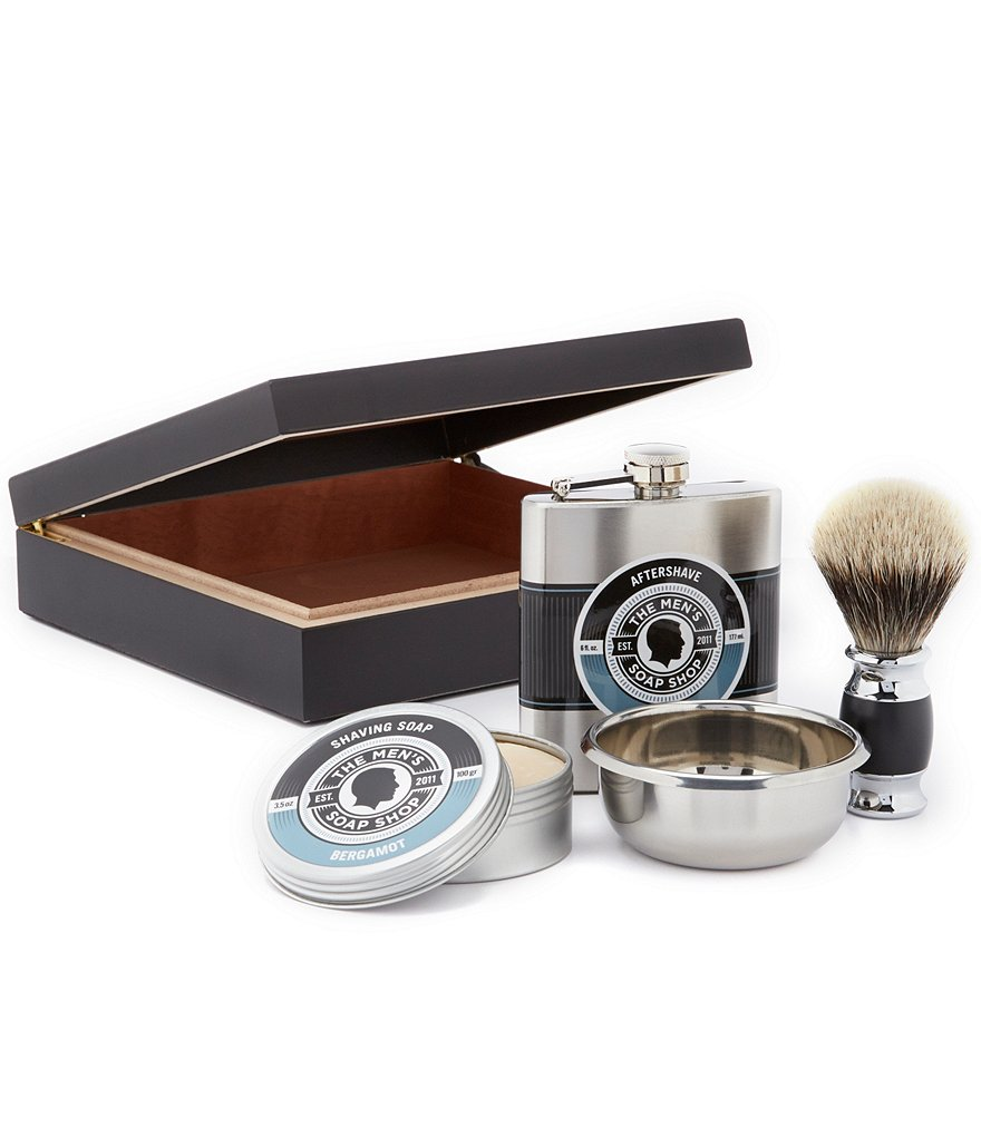 The Men´s Soap Shop Quatro Bergamot Grooming Set