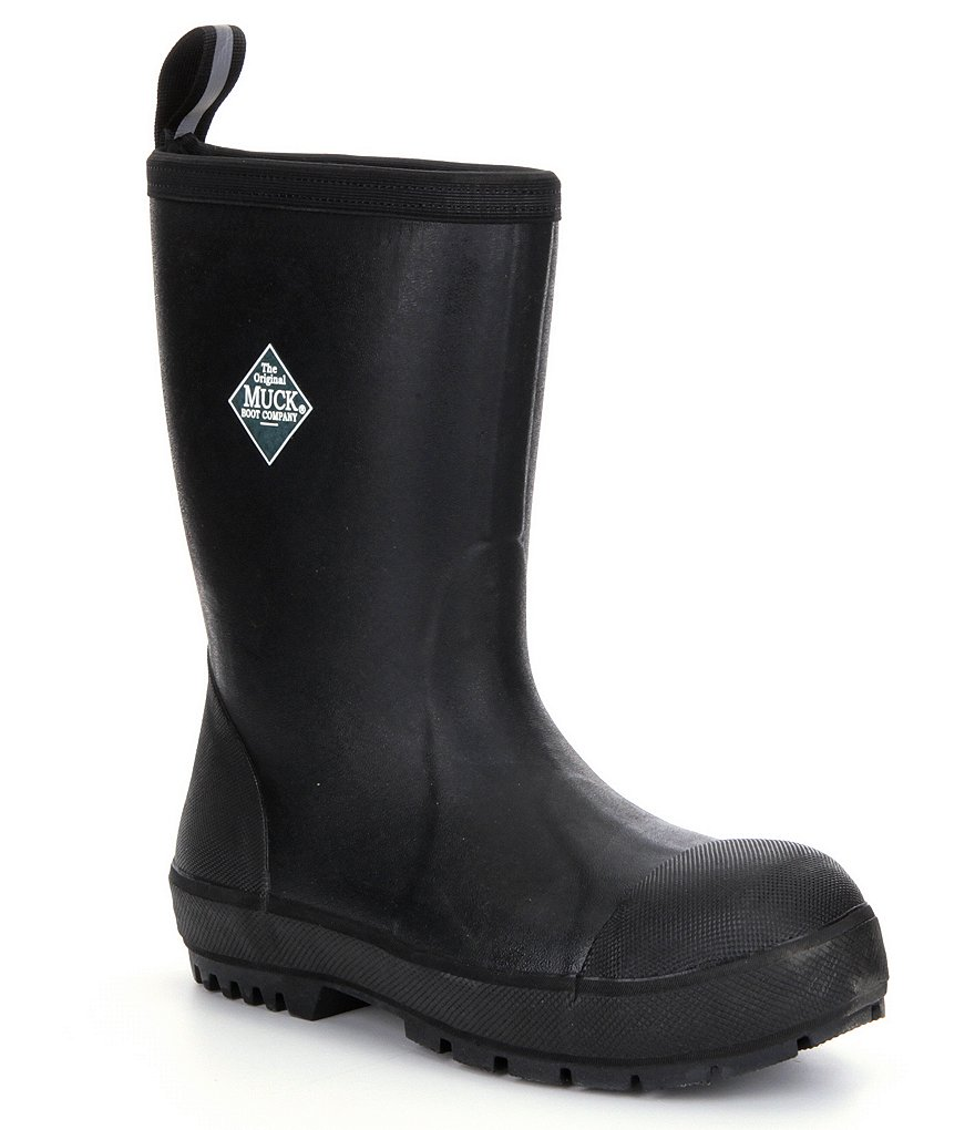 The Original Muck Boot Company Chore-Resistant Waterproof Steel-Toe Boots
