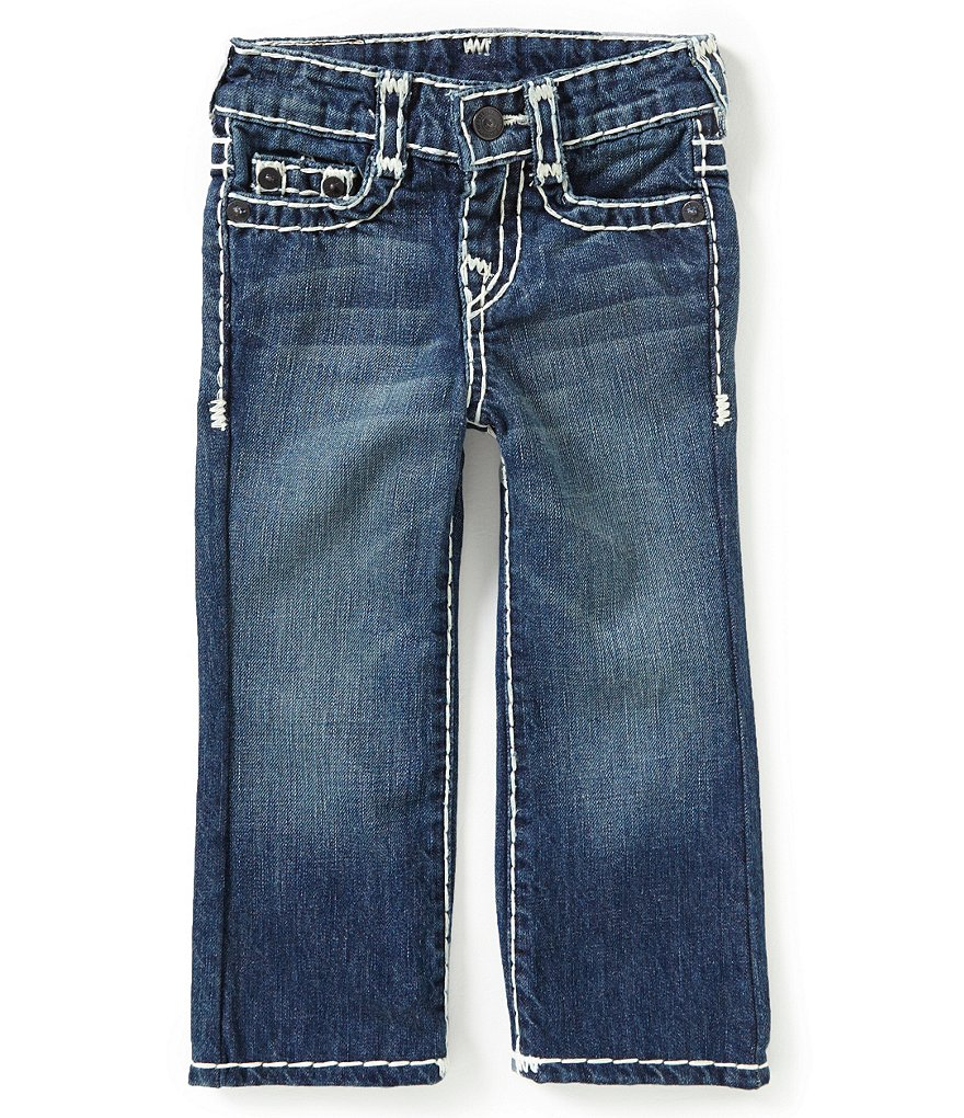 True Religion Little Boys 2T-7 Ricky Straight-Fit Jeans