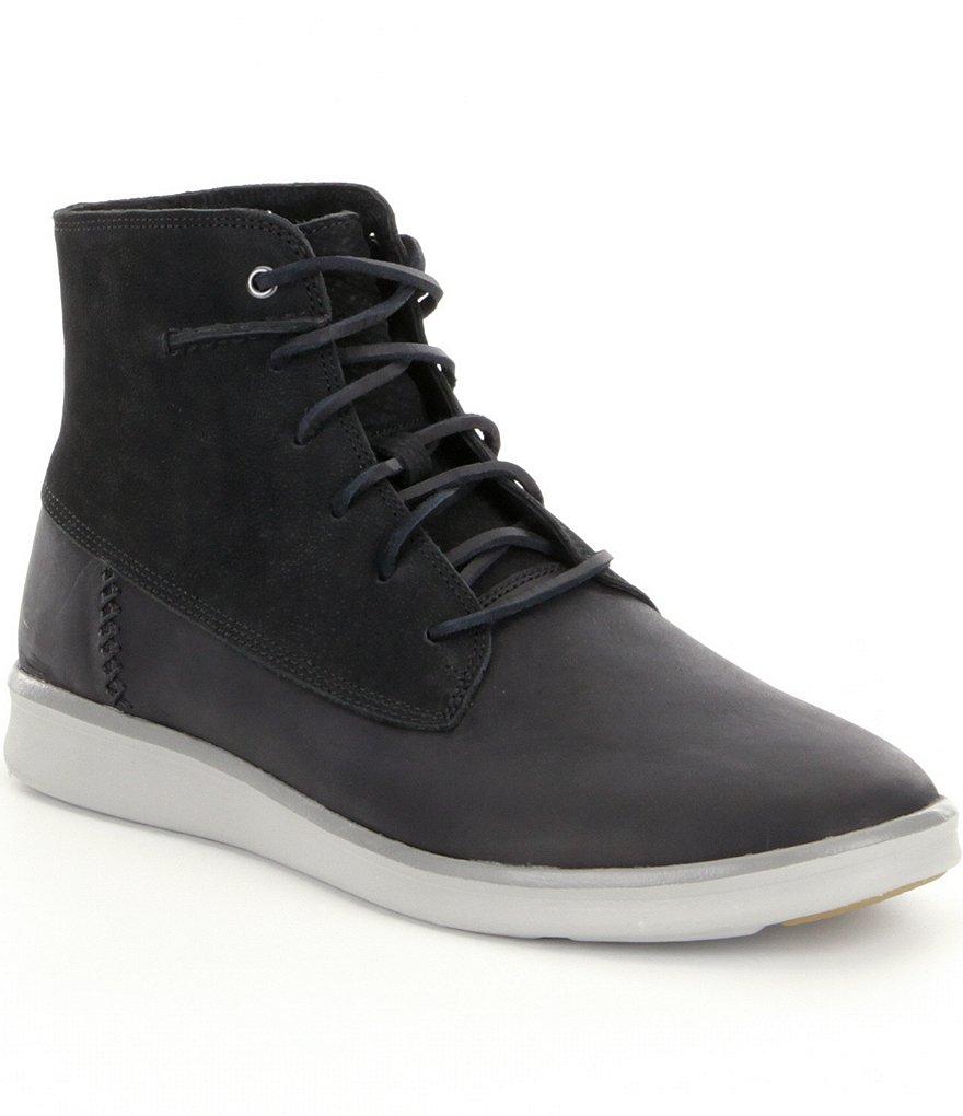 ugg 174 s lamont leather boots dillards