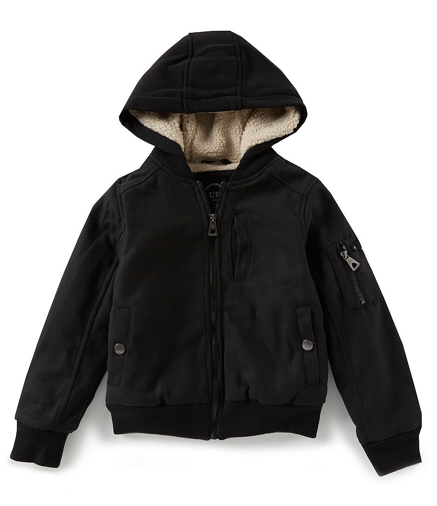 Urban Republic Big Boys 8-20 Wool Blend Varsity Jacket