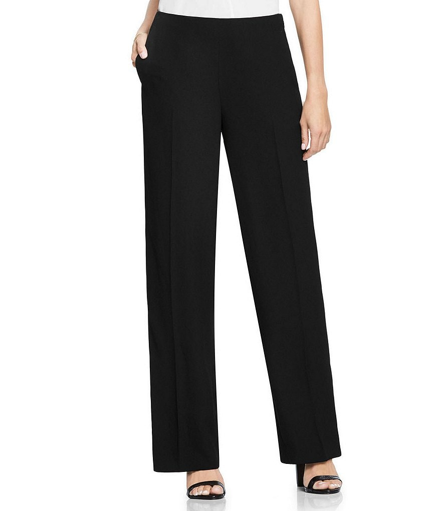 Vince Camuto Side Zip Wide Leg Trouser Pant